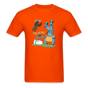 Men's T-Shirt: TrueMU and Dillon! - Men's T-Shirt