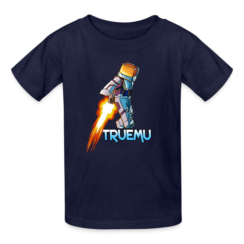Kid's T-Shirt: Jetpack TrueMU! - Kids' T-Shirt