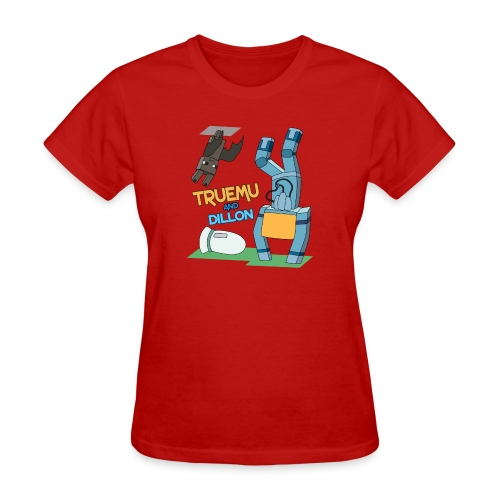 Women's T-Shirt: TrueMU and Dillon! - Women's T-Shirt