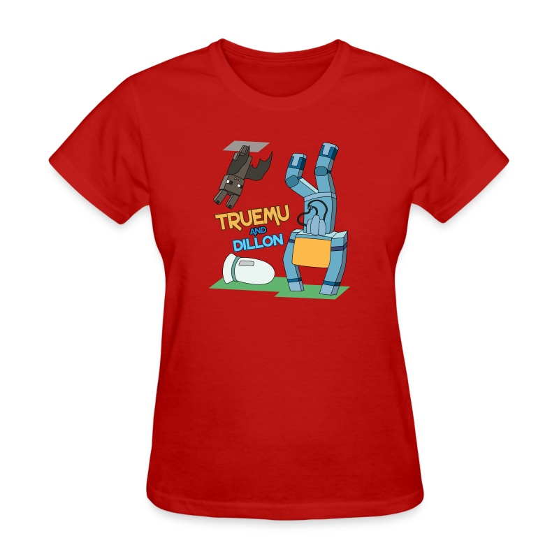 Women's T-Shirt: TrueMU and Dillon! - Women's T-Shirt