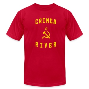 Crimea River - Men's T-Shirt by American Apparel