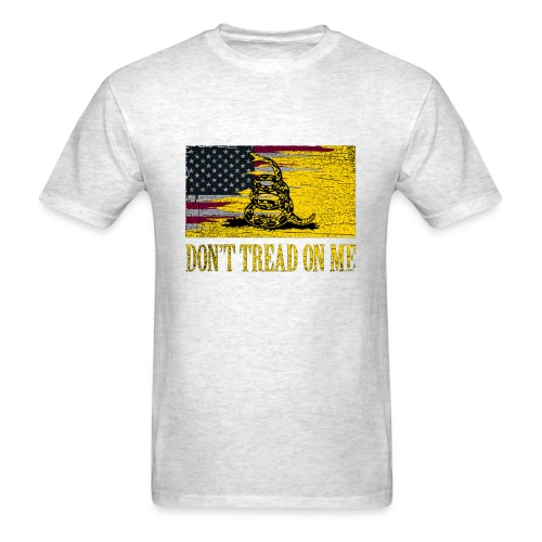 Don't Tread on Me Rustic T-Shirts - Men's T-Shirt