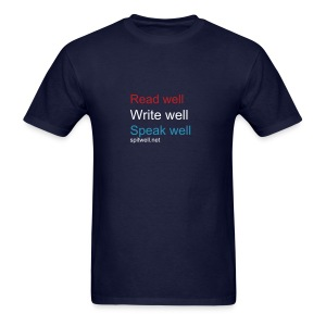 Read Write Speak - Men's T-Shirt