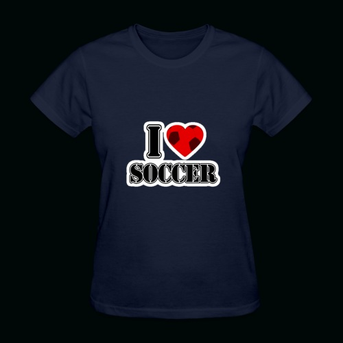 I Heart Soccer - Women's T-Shirt
