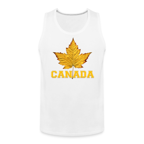 Men's Varsity Canada Muscle Shirt Team Canada Souvenir Shirts - Men's Premium Tank