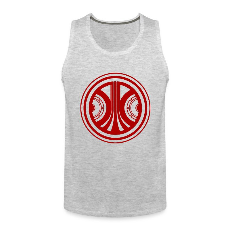 Starcadian Logo Round Sleeveless (Male) - Men's Premium Tank