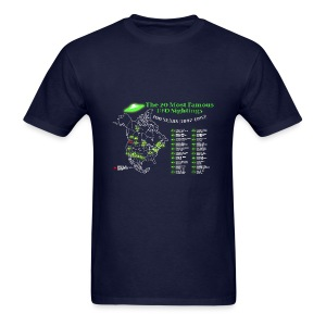 UFOs Best Of 100 years - Men's T-Shirt