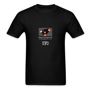 UFO Belgium Triangle - Men's T-Shirt