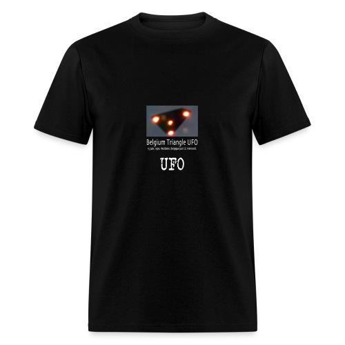 UFO Belgium Triangle - Men's T-Shirt