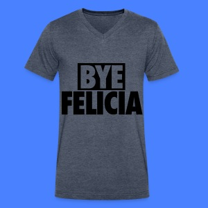 Bye Felicia T-Shirts - Men's V-Neck T-Shirt by Canvas