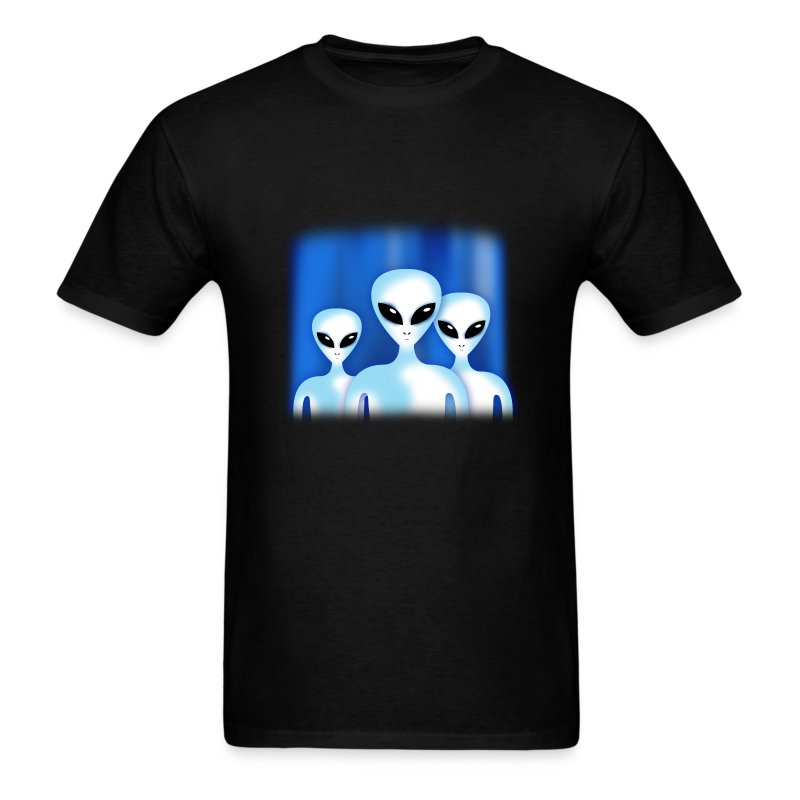 Greys (Alien) - Men's T-Shirt