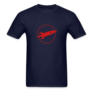 Retro Rocket - Men's T-Shirt