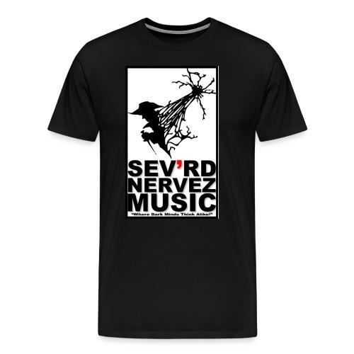 Sev'rd Nervez Music Logo t shirt - Men's Premium T-Shirt