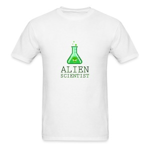 Alien Scientist - Men's T-Shirt