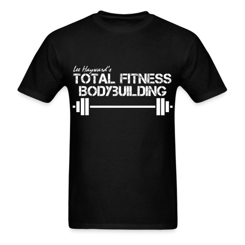 Total Fitness Bodybuilding Barbell T-Shirt - Men's T-Shirt