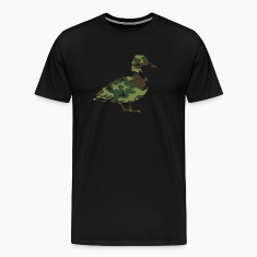 Camo Duck Men's Premium T-shirt