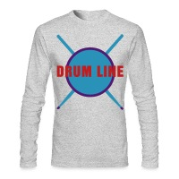 Drum Line - Men's Long Sleeve T-Shirt by Next Level