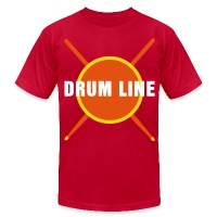 Drum Line - Men's T-Shirt by American Apparel