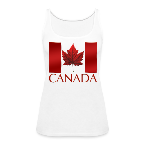 Women's Canada Souvenir Tank Top Canadian Flag Souvenir - Women's Premium Tank Top