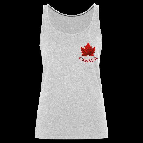 Women's Canada Shirt Souvenir Canadian Maple Leaf Tank Top - Women's Premium Tank Top