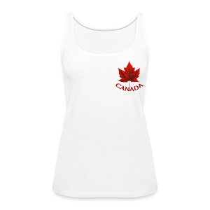 Women's Canada Shirt Souvenir Canadian Maple Leaf Tank Top - Women's Premium Tank Top