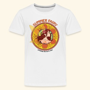 Summer Fairy for Kids - Kids' Premium T-Shirt