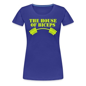 House of Biceps - women's premium tee - with neon print - Women's Premium T-Shirt