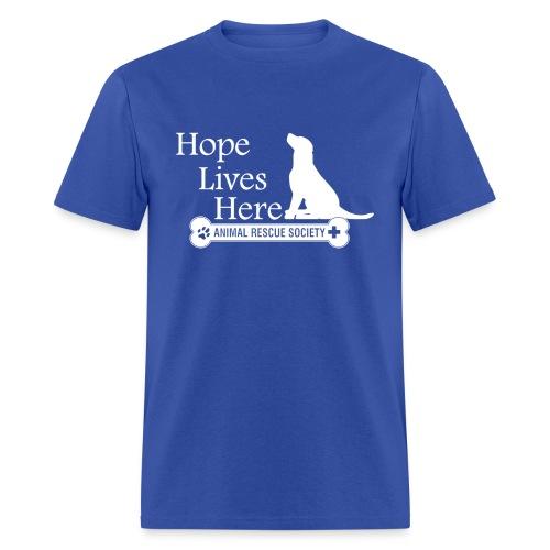 Hope Lives Here Men's Tee - Men's T-Shirt