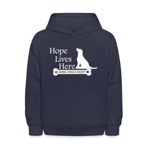 Hope Lives Here Youth Hoodie - Kids' Hoodie