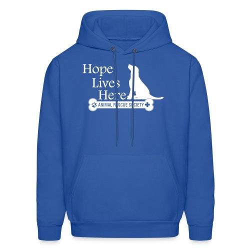 Hope Lives Here Men's Hoodie - Men's Hoodie