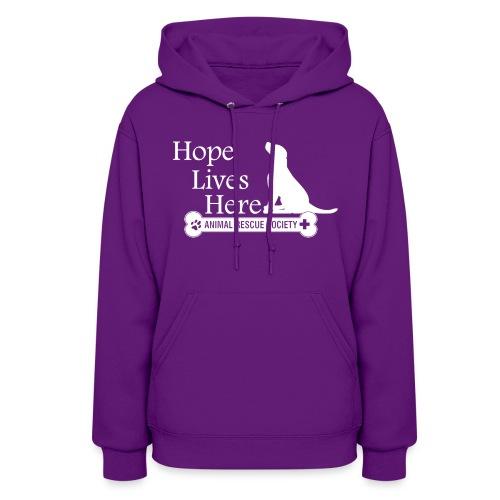 Hope Lives Here Women's Hoodie - Women's Hoodie
