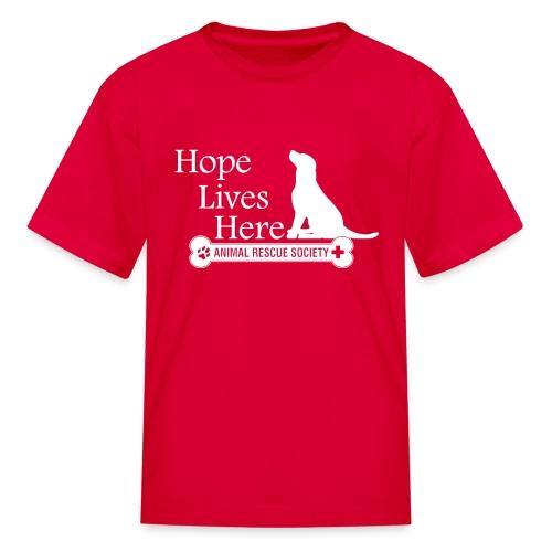 Hope Lives Here Kid's Tee - Kids' T-Shirt