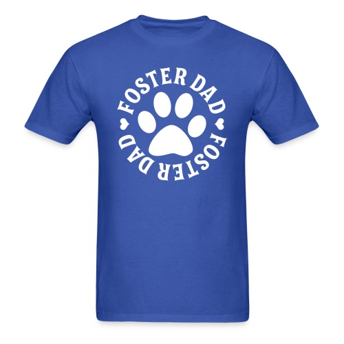 Foster Dad Tee, HLH Logo - Men's T-Shirt
