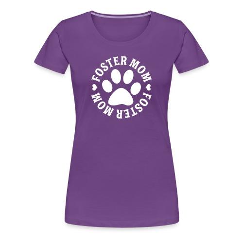Foster Mom Tee, HLH Logo - Women's Premium T-Shirt