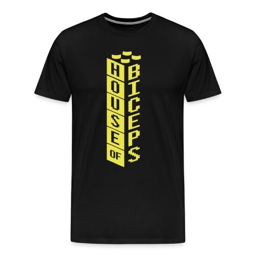 House of Biceps Dark Night tee - Men's Premium T-Shirt