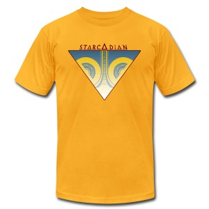 Starcadian Logo Triangle (Male) - Men's T-Shirt by American Apparel