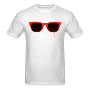 Starcadian Glasses (Male) - Men's T-Shirt
