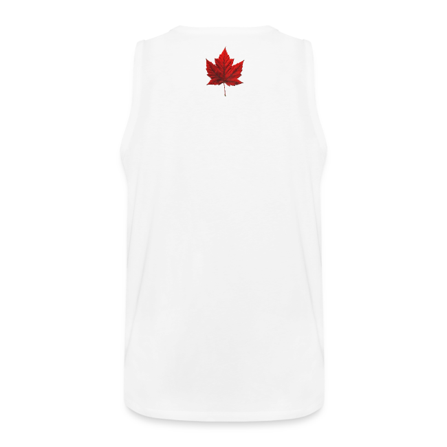 I Love Canada Men's Tank Top Canada Flag Souvenir Shirts