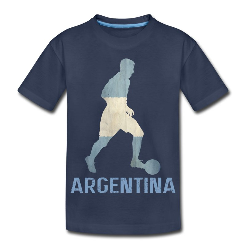 Argentina Football Shirts From Maradona to Messi the Argentina National side have seen some world football legends grace the shirt and you can too! Get your % authentic, Adidas Argentina kit from our store in adult and kids sizes.