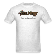 T-Shirts ~ Men's T-Shirt ~ Total Miner Logo T-Shirt with Personalized Text