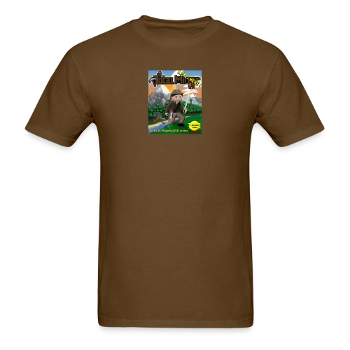 Total Miner 1.8 Cover Art T-Shirt - Men's T-Shirt