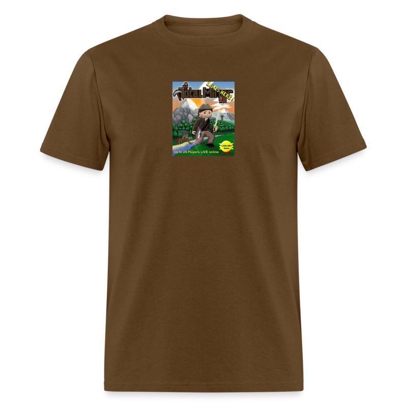 Total Miner 1.8 Cover Art T-Shirt - Men's T-Shirt