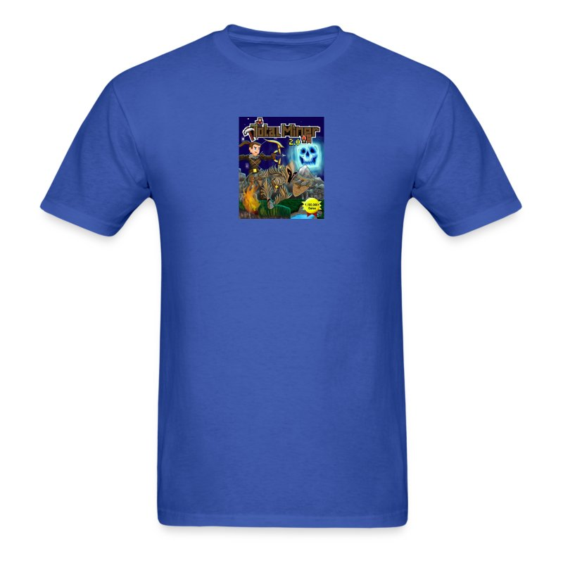 Total Miner 2.0 Cover Art T-Shirt - Men's T-Shirt