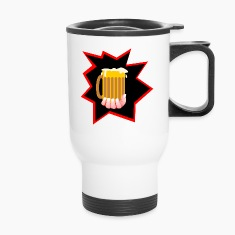 Beer Mug Burst Bottles & Mugs