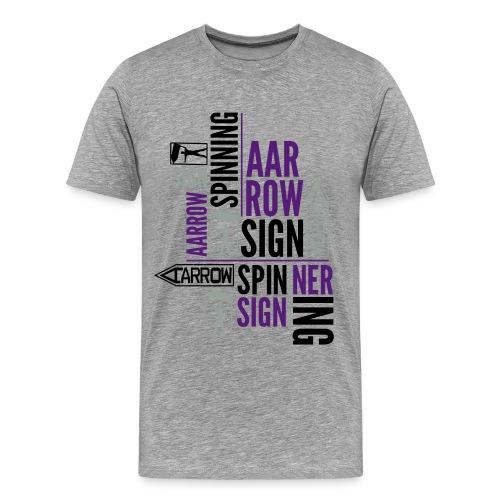 Typography variation - Men's Premium T-Shirt