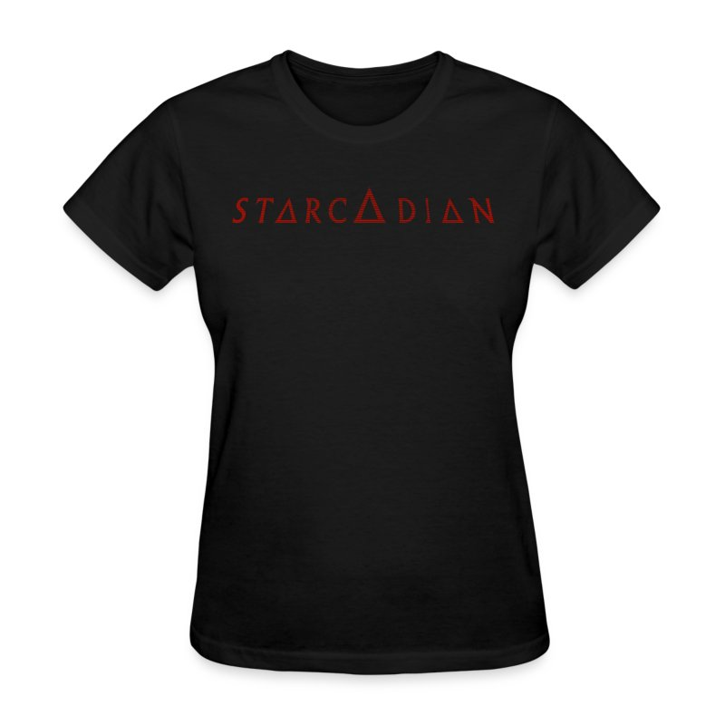 Starcadian Type Scanlined (Female) - Women's T-Shirt