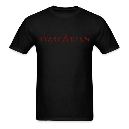 Starcadian Type Scanlined (Male) - Men's T-Shirt