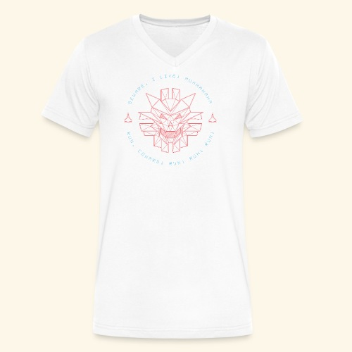 Beware, i live! - Men's V-Neck T-Shirt by Canvas