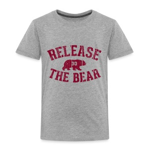 Release the Bear - Toddlers' - Toddler Premium T-Shirt