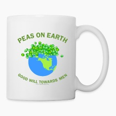 Peas On Earth Bottles & Mugs